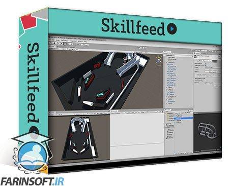 دانلود Skillshare Unity Game Tutorial: Pinball 3D
