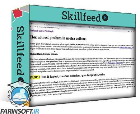 دانلود Skillshare Web Design – Modern HTML and CSS for creating Web Pages