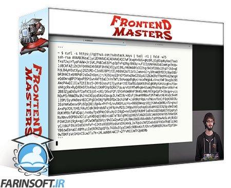 دانلود Frontend Masters Introduction to Bash, VIM & Regex