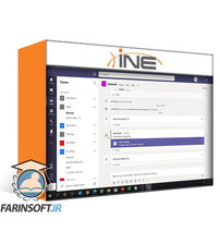 دانلود INE Implement Chat, Calling & Meetings in Microsoft Teams