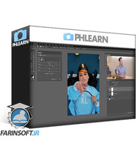 دانلود PhLearn Bold & Vibrant Coloring in Lightroom and Photoshop