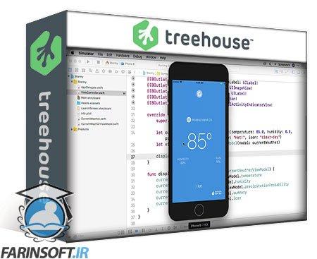 دانلود Treehouse Build a Weather App ( iOS June 2018 Update Refresh )