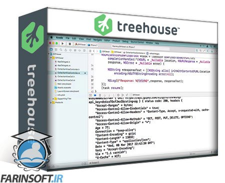 دانلود Treehouse Displaying API Data with Collection Views in Objective-C