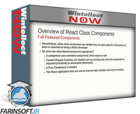 دانلود WintellectNOW React Class Components