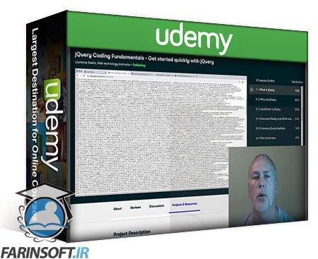 دانلود Udemy jQuery Coding Fundamentals Get started quickly with jQuery
