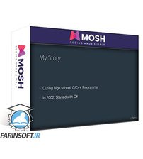 دانلود Code with Mosh C# Intermediate Classes, Interfaces and OOP