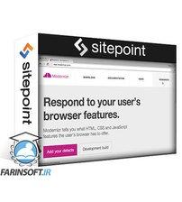 دانلود Site Point Use Modern HTML, CSS and JavaScript Features in your Code with Modernizr