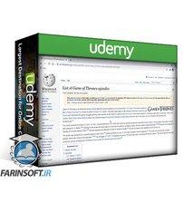 دانلود Udemy Web scraping : Python Beautiful Soup Web scraping Bootcamp