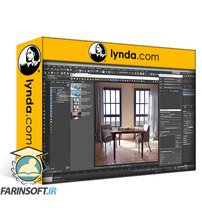 دانلود lynda 3ds Max: Rendering for Compositing in V-Ray Next