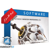نرم افزار Autodesk Inventor Pro 2021.0.1  طراحی و مدلسازی