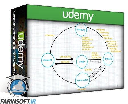 دانلود Udemy Micrium uC/OS-III RTOS Programming From Ground Up on ARM