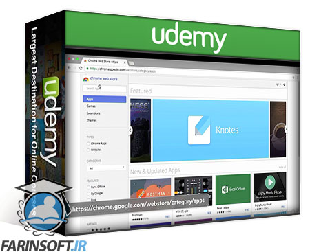 دانلود Udemy Learn Building an App with React.js and MeteorJS Course