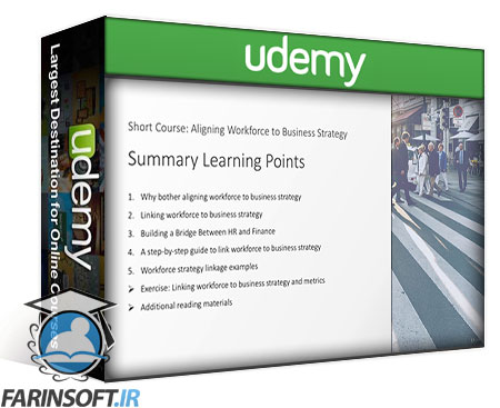 دانلود Udemy Workforce Analytics: Link Workforce to Business Strategies