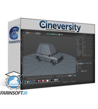 دانلود Cineversity Toon Car Texturing & Baking Techniques