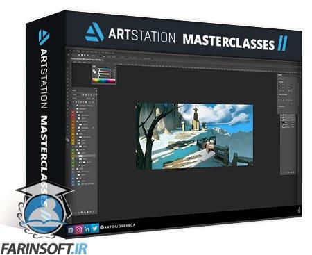 دانلود ArtStation Animate a 2D Background in 3D using camera projection