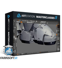 دانلود ArtStation Gunner Mech Concept Design Tutorial