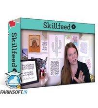 دانلود Skillshare Turn Your Calligraphy Into a Work of Art