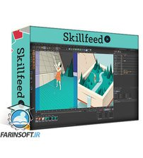 دانلود Skillshare 3D Illustration in Cinema 4D