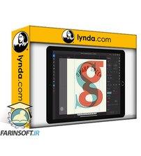 دانلود lynda Illustrator on the iPad: Typography and Type Effects