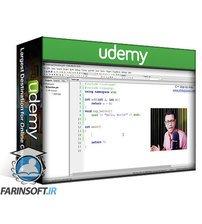 دانلود Udemy C++ programming step-by-step: From Beginner to Advanced