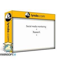 دانلود lynda Social Media Monitoring: Strategies and Skills