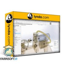 دانلود lynda SOLIDWORKS: Designing a Stirling Engine