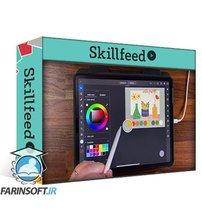 دانلود Skillshare Adobe Illustrator for iPad 101: Three Floral Illustrations