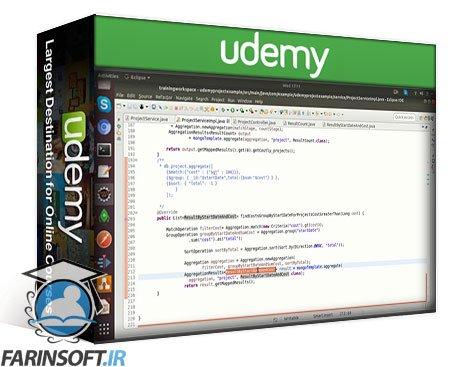 دانلود Udemy Mastering SpringBoot with MongoDB