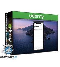 دانلود Udemy Secure Notes App in SwiftUI, Keychain, FaceID, TouchID