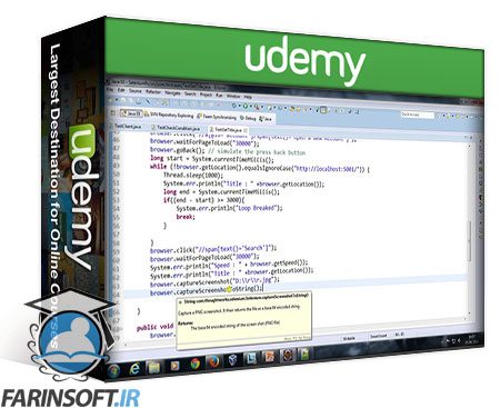 دانلود Udemy Web automation using Selenium RC from Scratch