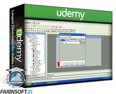 دانلود Udemy FactorytalkViewSE Training Connecting to RSLogix5000 PLC's.