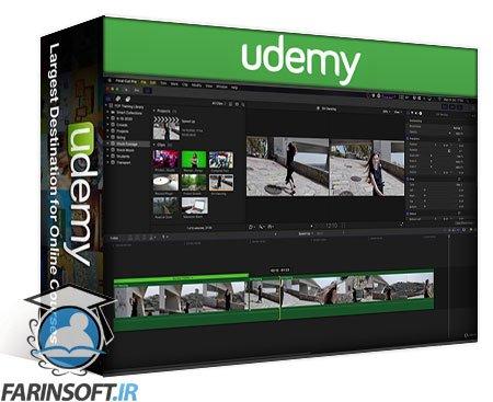 دانلود Udemy Final Cut Pro X – A Really Really Simple Introduction