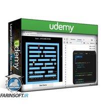 دانلود Udemy JavaScript DOM Pacman Game Project Learn JavaScript Code