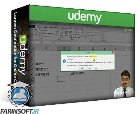 دانلود Udemy Learn Advanced Excel VBA for Automation