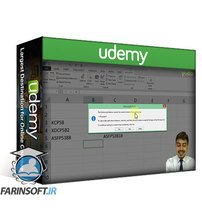دانلود Udemy Learn Advanced Excel VBA for Automation