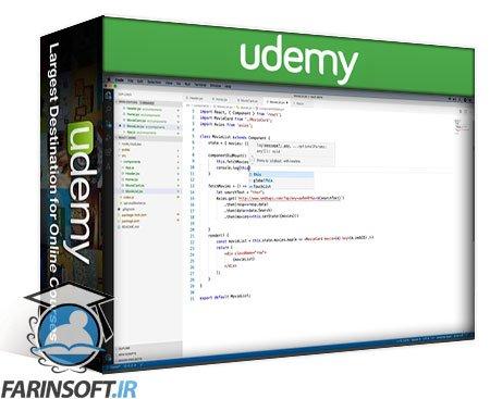 دانلود Udemy Learn React by building a Progressive Web App (PWA)