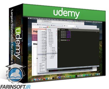 دانلود Udemy Learn SASS Quickly: Supercharge Your CSS
