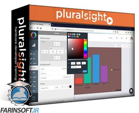 دانلود PluralSight Build Your First Data Visualization with ChartBlocks