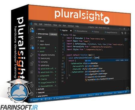 دانلود PluralSight Building a Chat Application with React Native