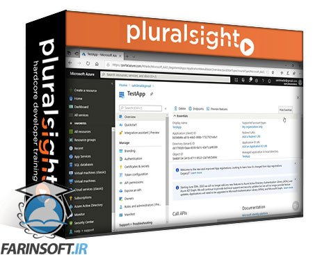 دانلود PluralSight Microsoft Azure Developer: Implement User Authentication and Authorization