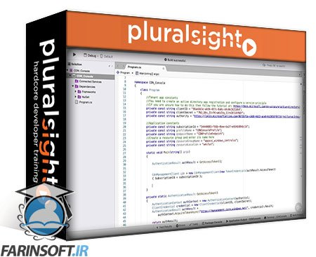 دانلود PluralSight Microsoft Azure Developer: Integrate Caching and Content Delivery