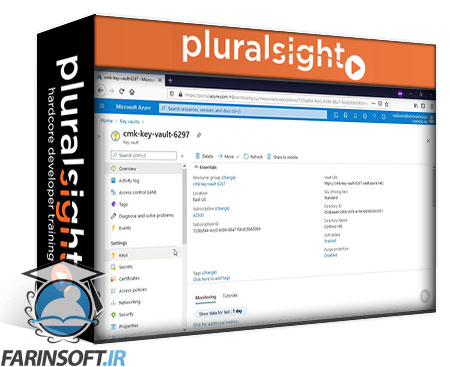 دانلود PluralSight Microsoft Azure Security Engineer: Configure and Manage Key Vault