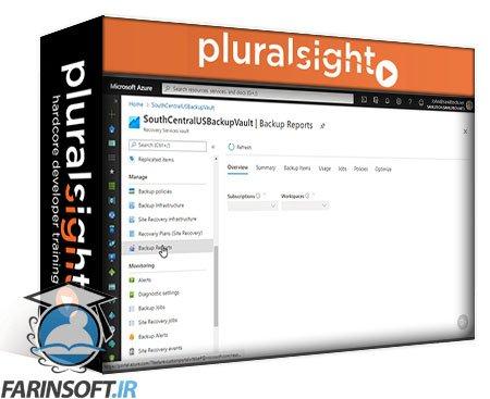 دانلود PluralSight Microsoft Azure Solutions Architect: Design for Backup and Recovery