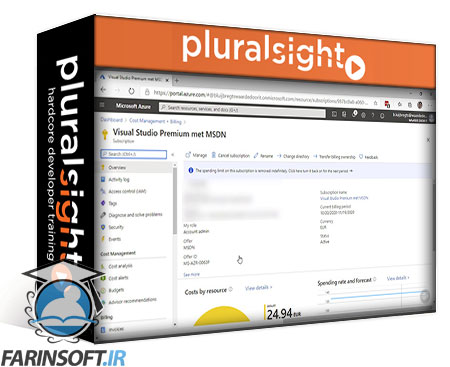 دانلود PluralSight Microsoft Azure Solutions Architect: Design for Cost Optimization