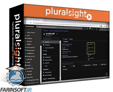 دانلود PluralSight Microsoft Azure Solutions Architect: Implement a Virtual Machine Strategy