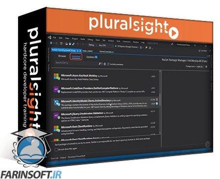 دانلود PluralSight Microsoft Azure Solutions Architect: Implement an Application Security Strategy