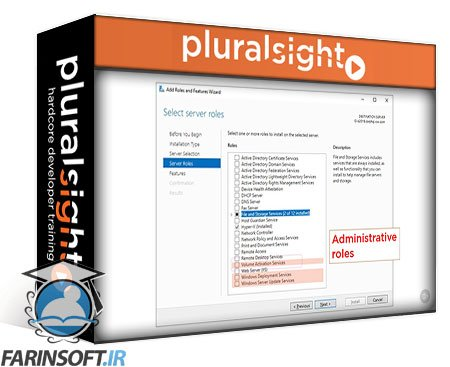 دانلود PluralSight Windows Server Administration Concepts: Server Roles
