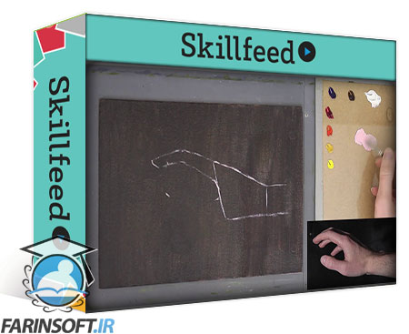 دانلود Skillshare A Study of Hands – Painting and Drawing Techniques