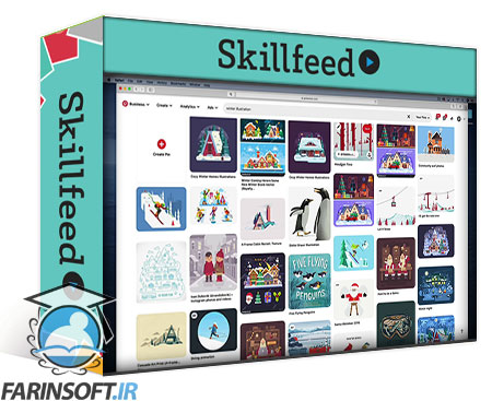 دانلود Skillshare Create then Animate: Beginner Workflow in Illustrator & After Effects