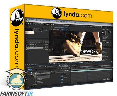 دانلود lynda After Effects CC 2021 Essential Training: Editors and Post